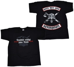 T-Shirt Gott mit uns Germanen