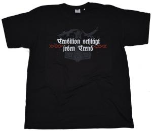 Wikingermotiv T-Shirt Tradition schlägt jeden Trend G91U