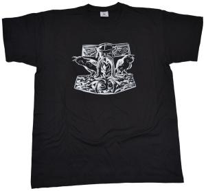Vikinger Motiv T-Shirt Thorhammer G94