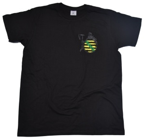 T-Shirt Sachsenkrieger II Germane mit Sachsenwappen K62 U