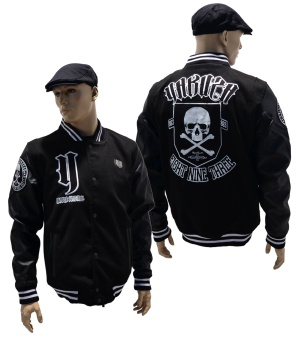 Yakuza Ink College Jacke Cross Bones JB-11023