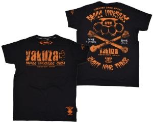 Yakuza Ink T-Shirt Bras Knuckles Crew TSB503