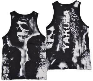 Yakuza ink Streetwear Muckishirt Tank-Top Allover Skull