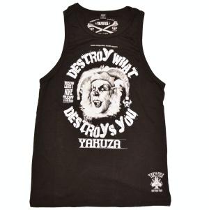 Yakuza Ink Streetwear Muckishirt Tank-Top Destroy