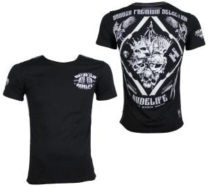 Yakuza Premium Streetwear T-Shirt Königsköpfe YPS2315